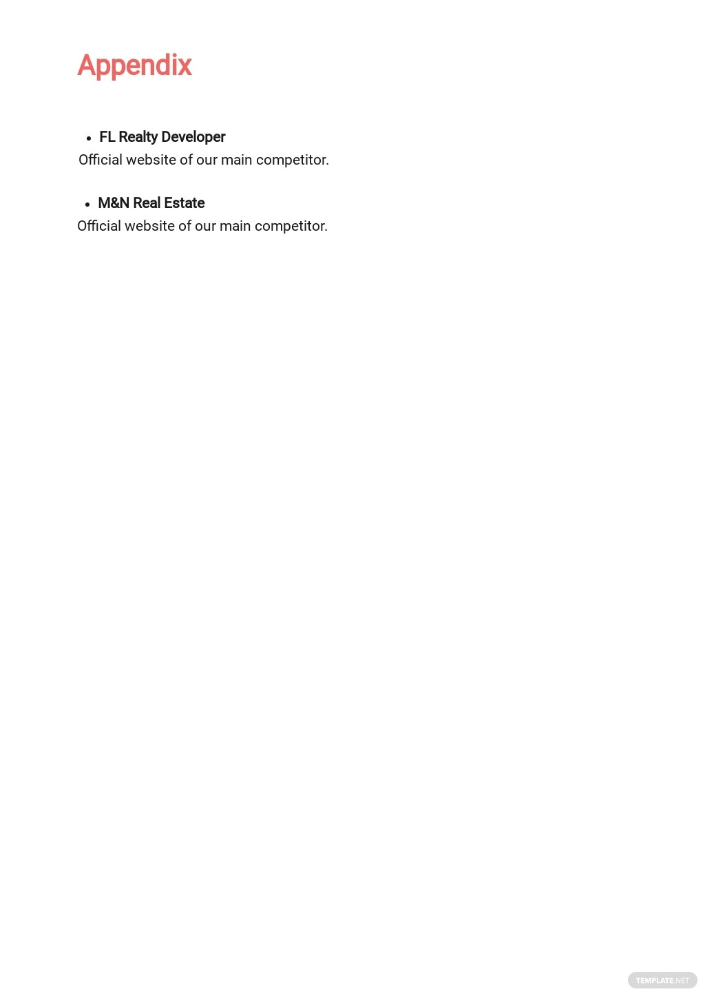 Free Commercial Real Estate Business Plan Template 9.jpe