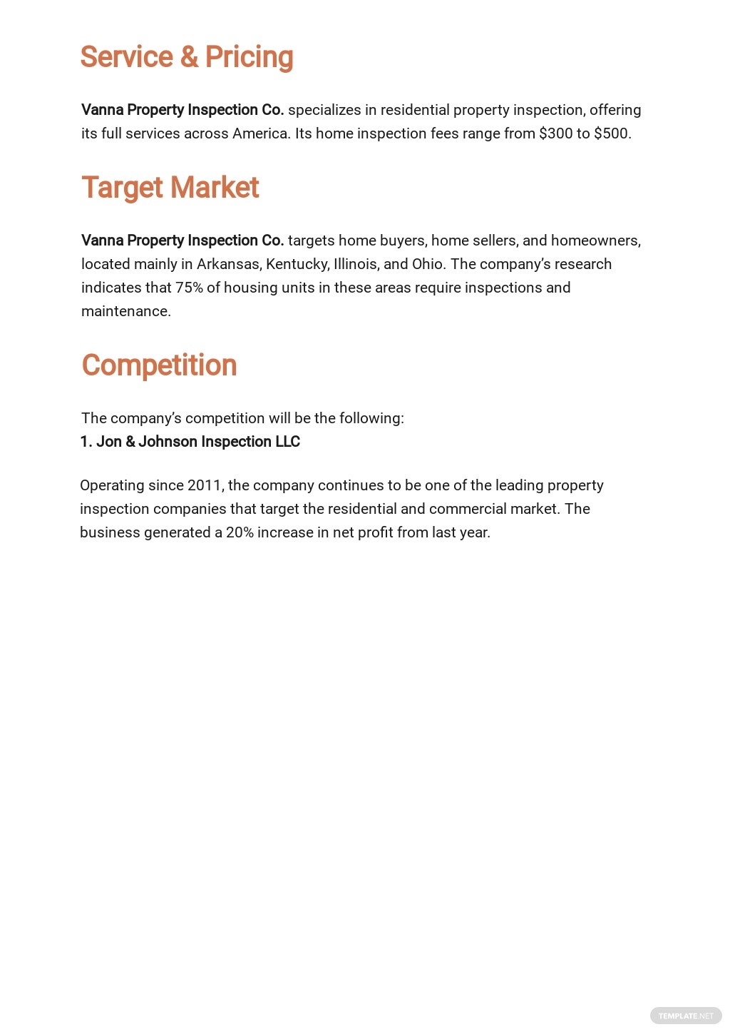Business Property Inspection Business Plan Template 2.jpe