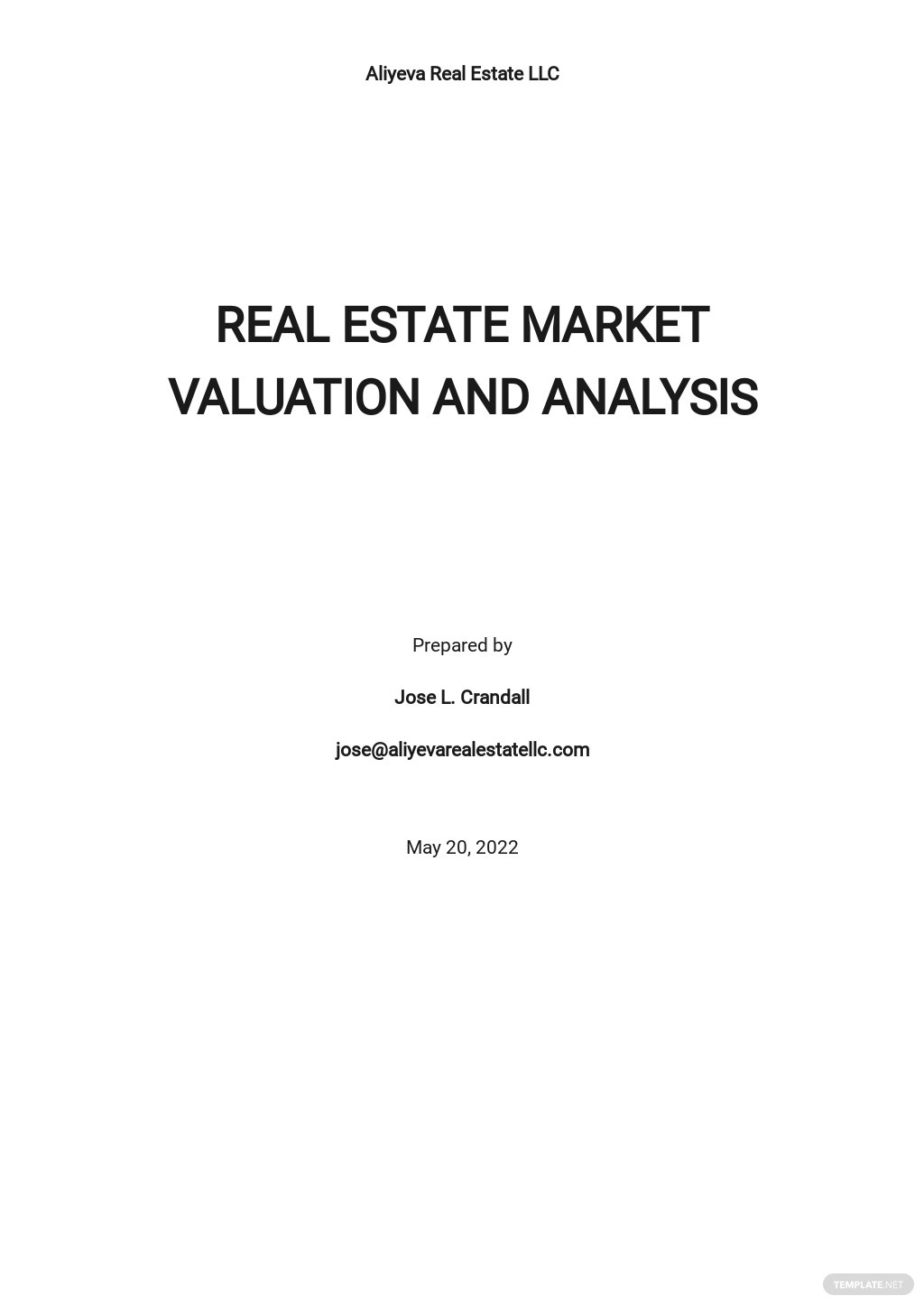Real Estate Market Valuation and Analysis Template.jpe