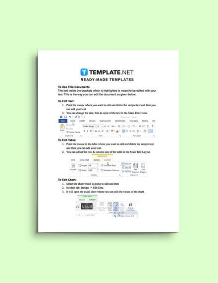 sample Property Information Form