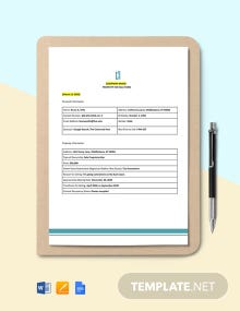 Property For Sale Form Template