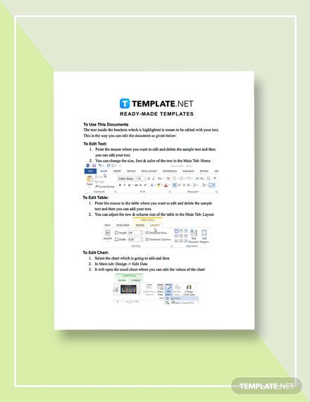 Real Estate Disclosure Form Template [Free Google Docs] - Word, Apple Pages