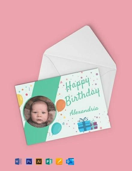 Free Kid's Birthday Party Invitation Template