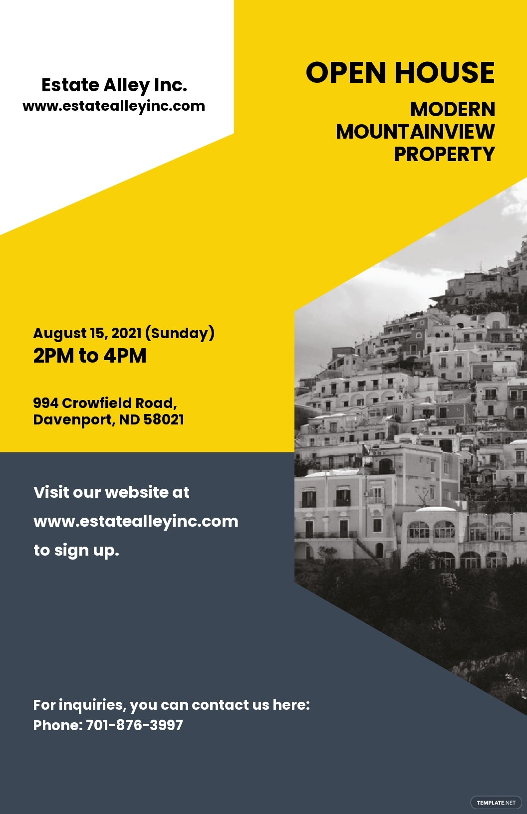 Creative Real Estate Poster Template