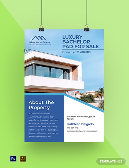 Real Estate Marketing Poster Template