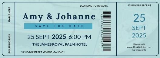 Free Boat Boarding Pass Invitation Template.jpe