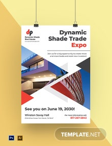 Real Estate Event Poster Template