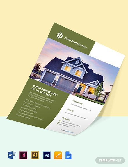 Free Professional Real Estate Flyer Templates