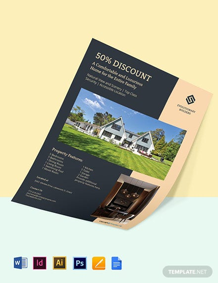Free Luxury Real Estate Flyer Templates