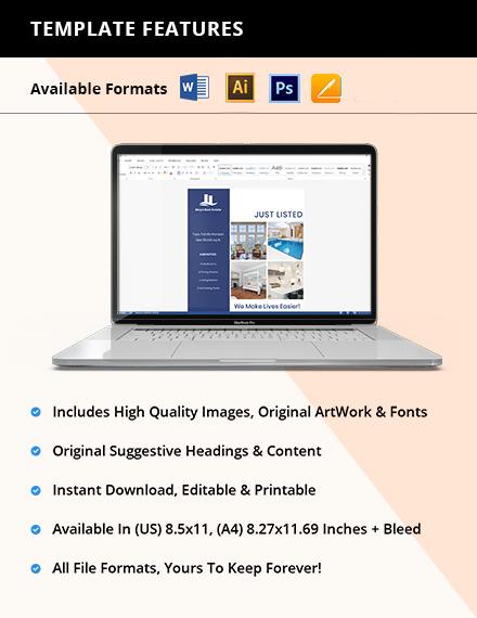 Open House New Listing Flyer Editable