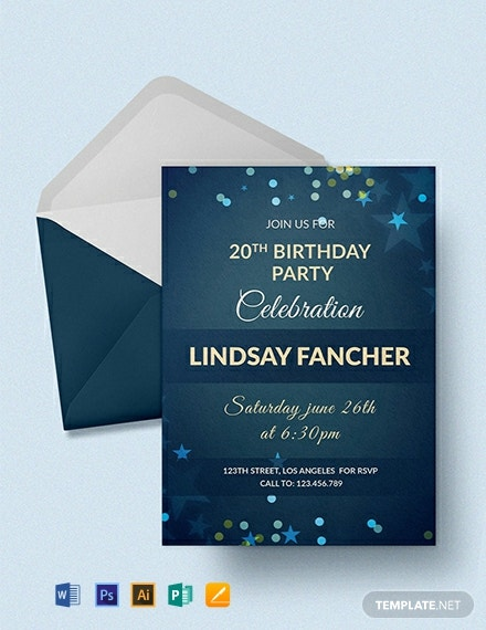118 FREE Birthday Invitation Templates Download Ready Made Samples