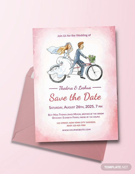 52 free wedding invitation templates download ready made