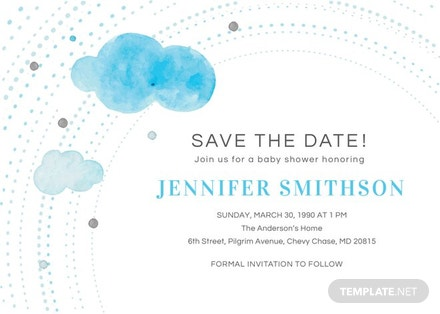 Save the date baby shower invitation template download 344 save the date baby shower invitation template filmwisefo