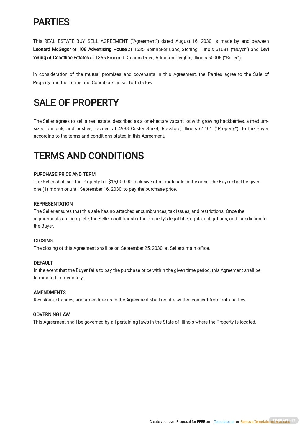 Real Estate Buy Sell Agreement Template 1.jpe