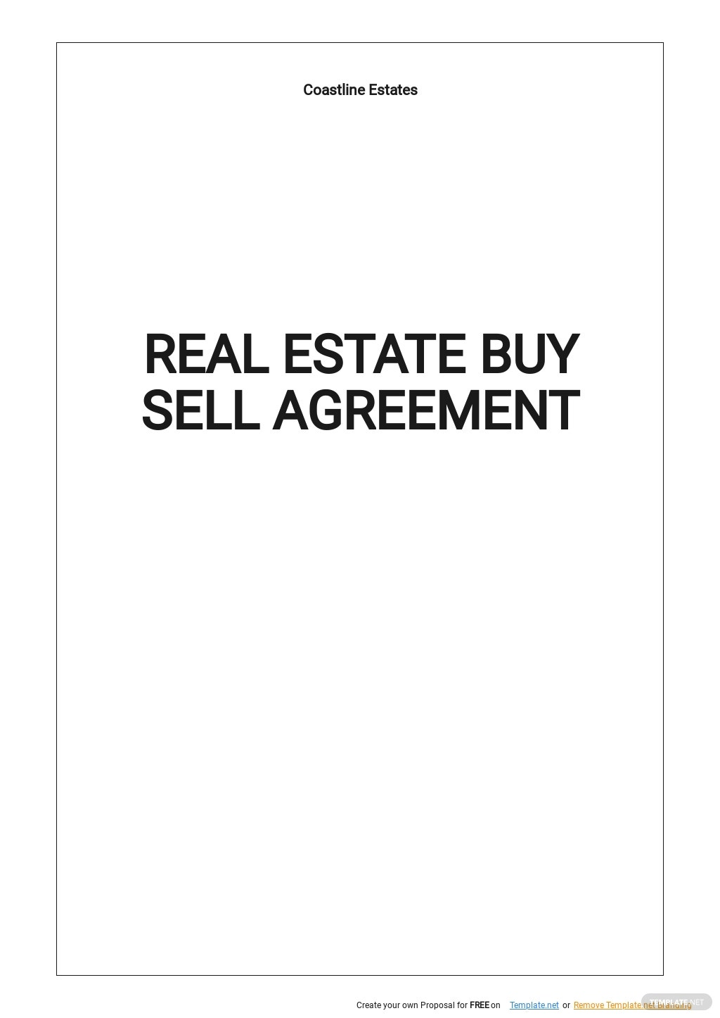Real Estate Buy Sell Agreement Template.jpe