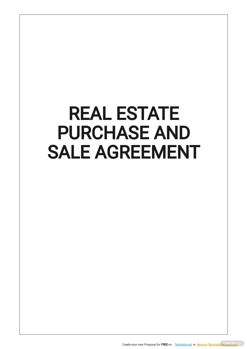 Real Estate Purchase and Sale Agreement Template.jpe