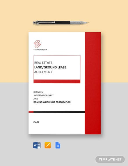 Land/Ground Lease Agreement Template