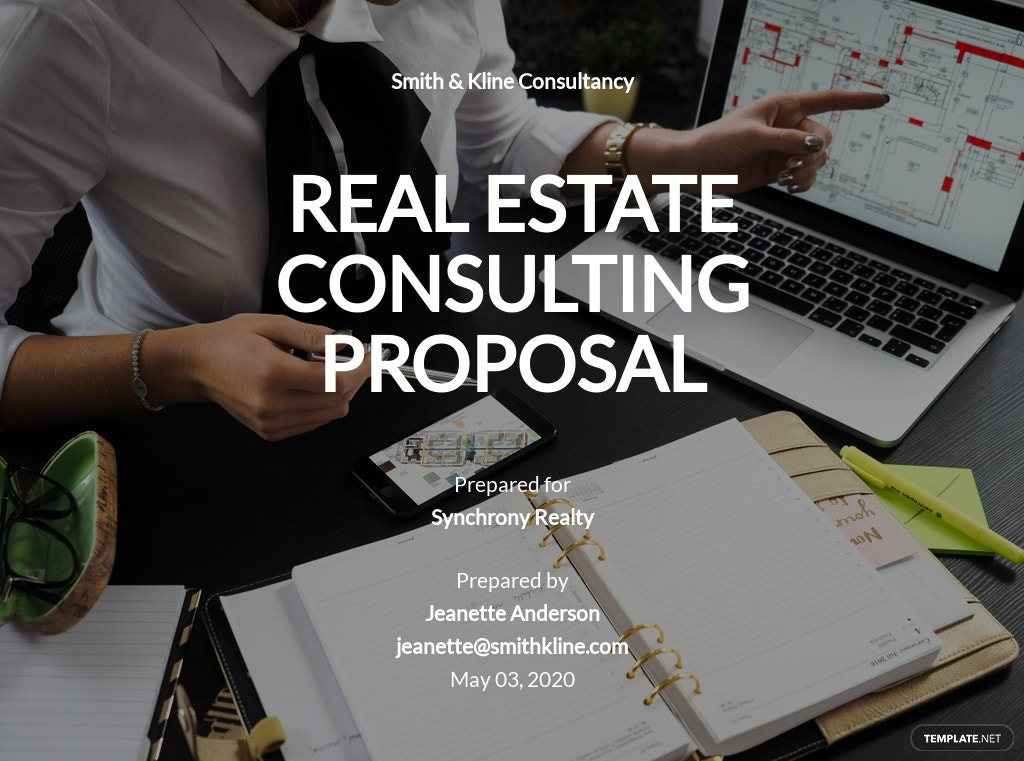 Real Estate Consulting Proposal Template