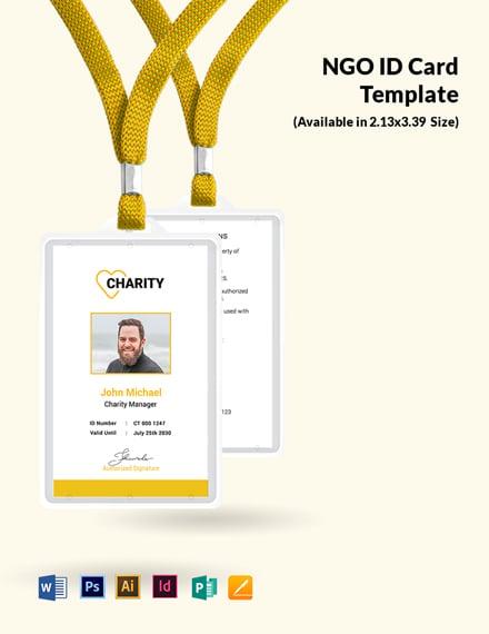 Free NGO Employees ID Card