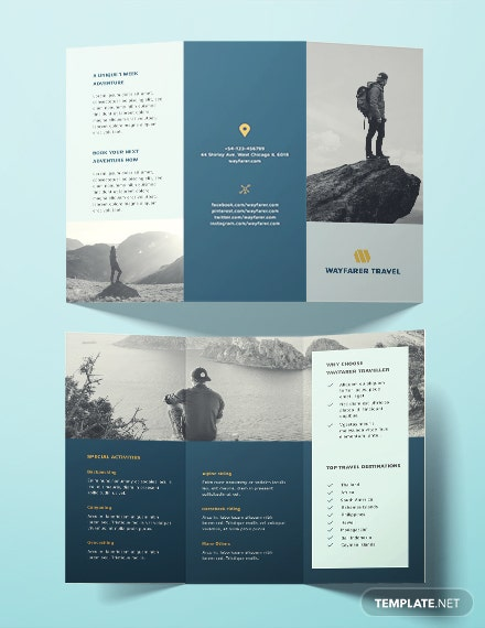 15 free travel brochure templates download ready made template net