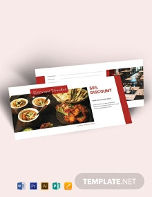 Free Restaurant Voucher Template
