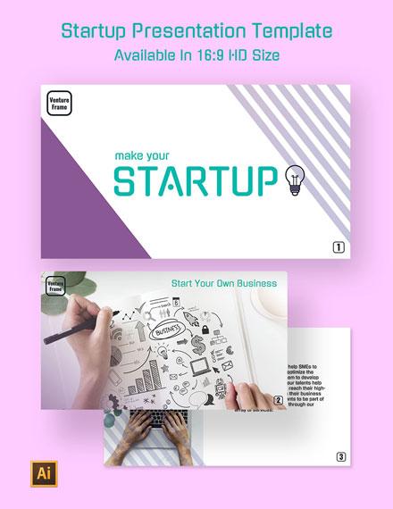 Startup Presentation Template