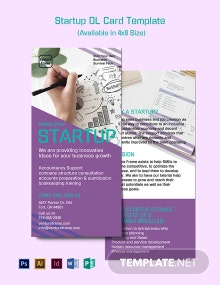 Startup DL Card Template