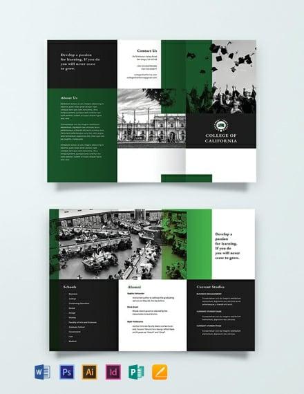 Free Creative College Brochure Template