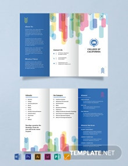 Modern College Brochure Template