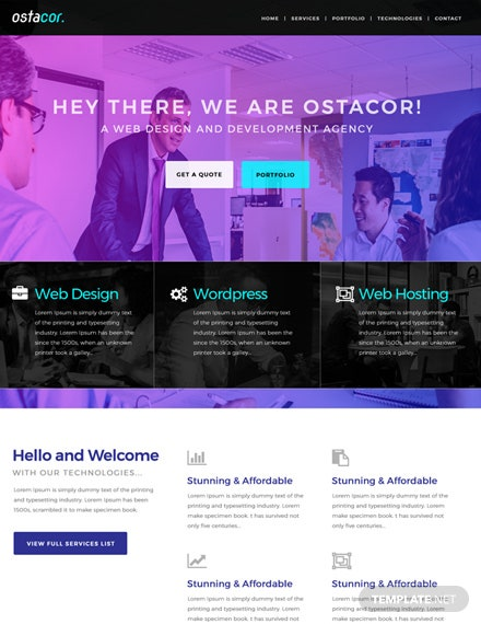 Free Web Design and Development HTML5/CSS3 Website Template
