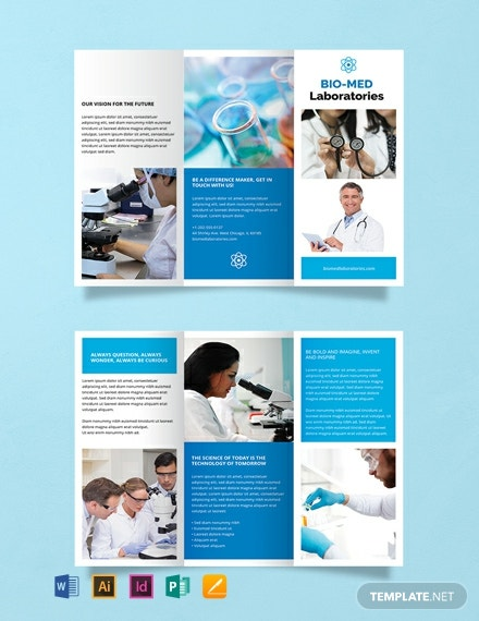 Free Science Brochure Template