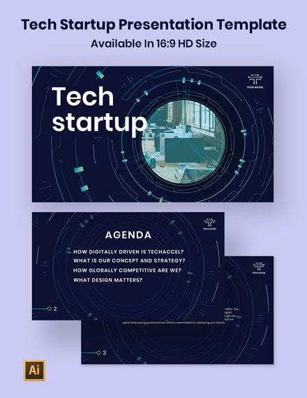 Technology Startup Presentation Template