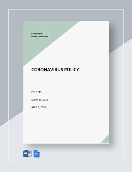 Free Coronavirus Policy