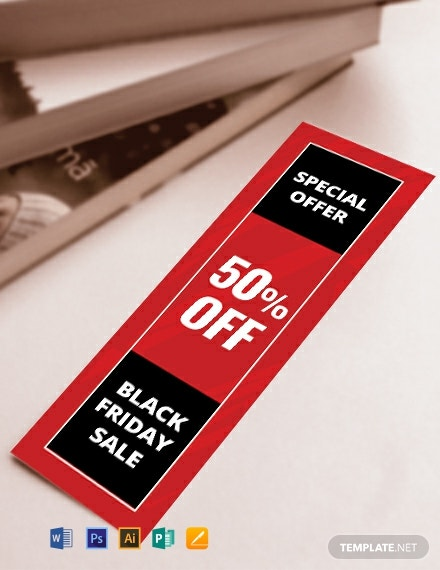 Free Promotional Bookmark Template