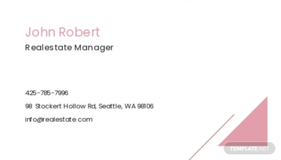 Real Estate Agent/Realtor Business Card Template 1.jpe