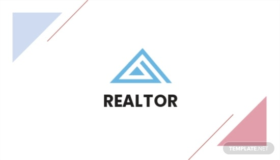 Real Estate Agent/Realtor Business Card Template.jpe