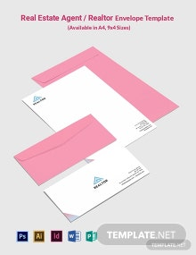 Real Estate Agent/Realtor Envelope Template