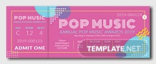 Sample Ticket Template