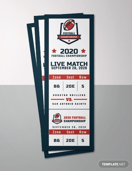 free sports raffle ticket template download 57 tickets in psd