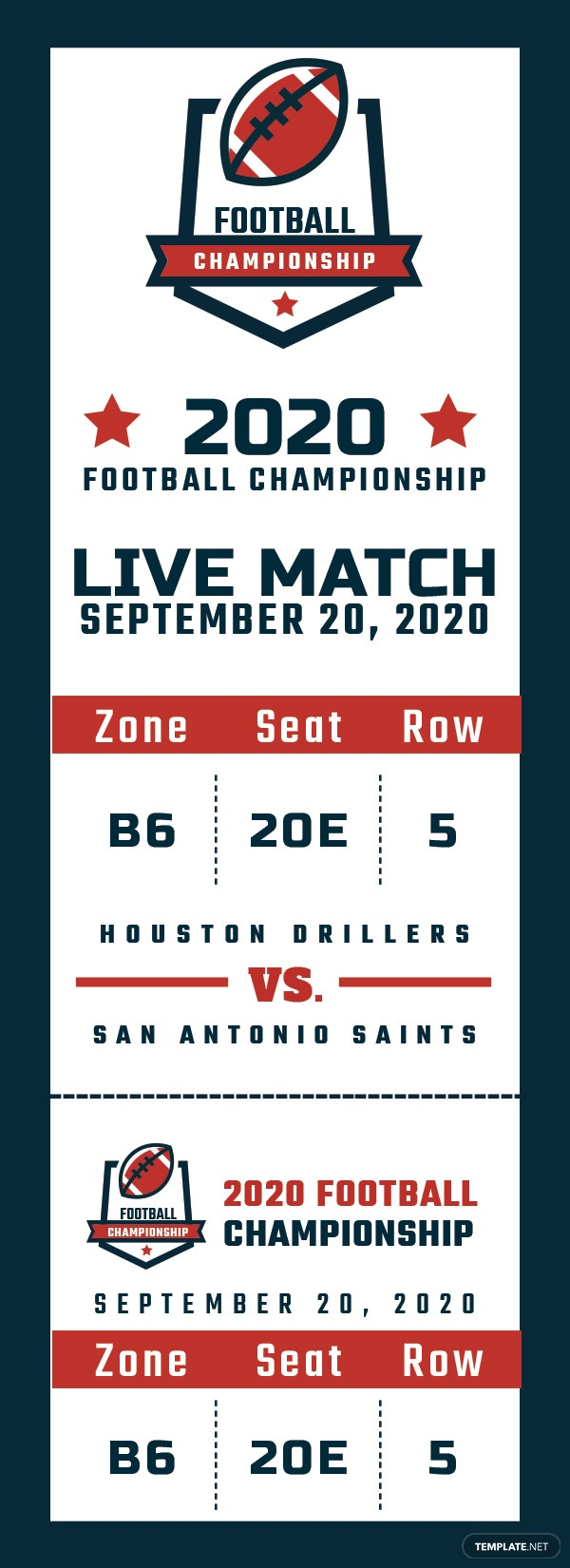 sports event ticket template in adobe photoshop