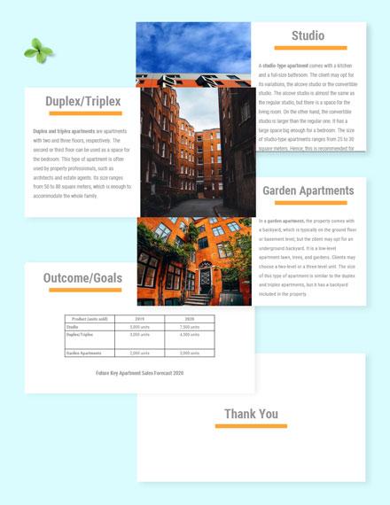 Free Sample Real Estate Presentation Template