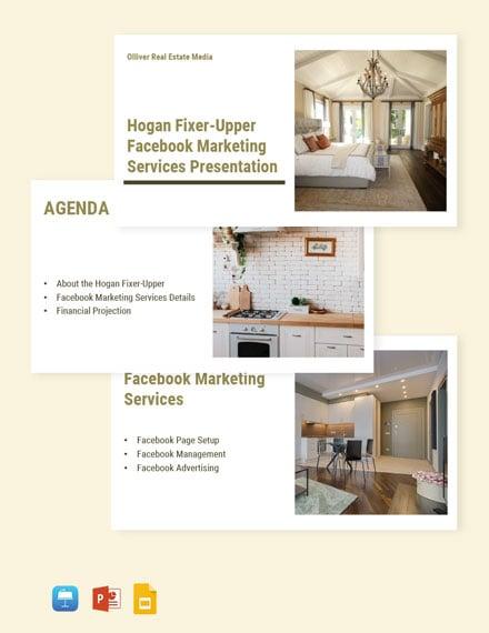Free Modern Real Estate Presentation Template