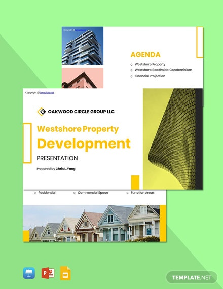 Free Creative Real Estate Presentation Template