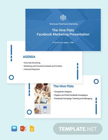 Real Estate Marketing Presentation Template