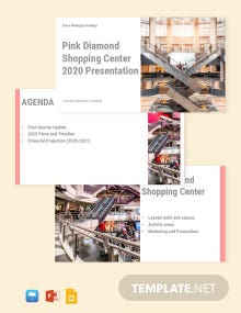 Commercial Real Estate Presentation Template