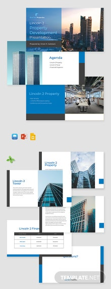 Real Estate Development Presentation Template