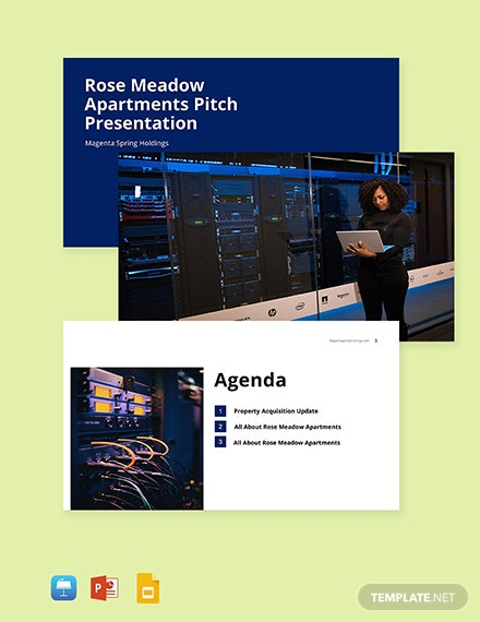 Commercial Real Estate Pitch Deck Template