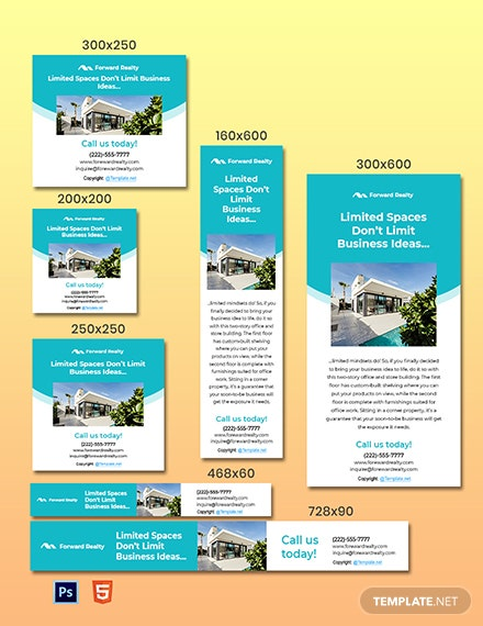 Free Simple Real Estate Ads Template