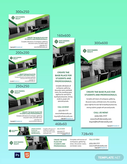 Free Creative Real Estate Ads Template