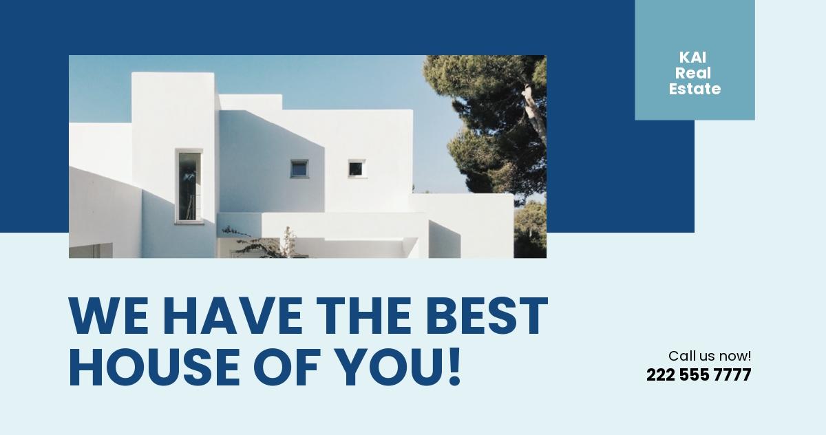Real Estate Facebook Ads Template